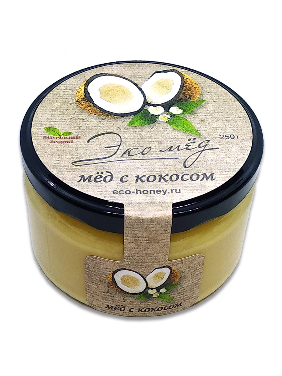 Мёд с кокосом